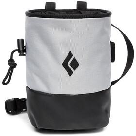Black Diamond Mojo Zip Chalk Bag S/M, pewter